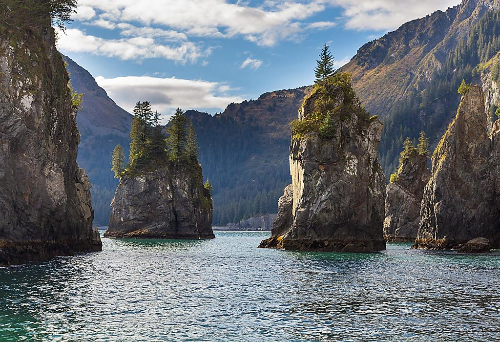 Spire Cove, Kenai Fjords Nationalpark