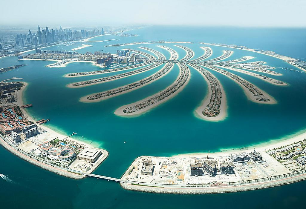 Artificial Palm Island, United Arab Emirates