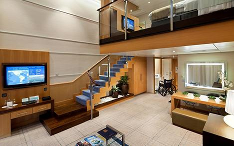 Wheelchair Accessible Loft Suite