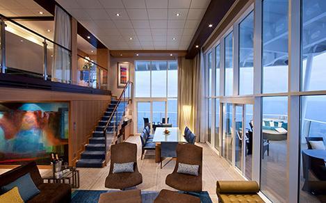 allure royal loft suite stateroom 750x400