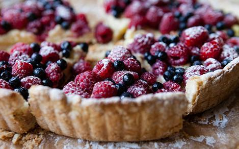 Alaskan Wild Berries Pie Dessert