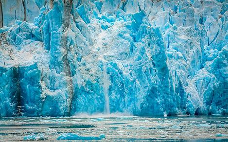 Majestic Glacier in Alaska