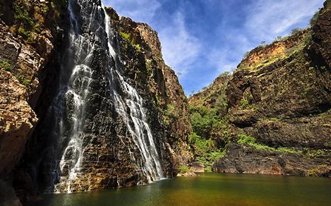 Australia Outback Waterfall