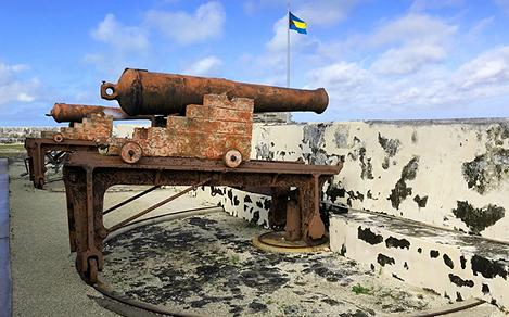Fort Charlotte, a Historical Fort in the Bahamas