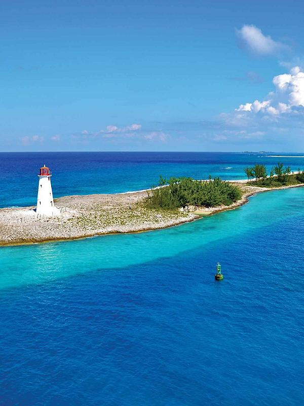 Nassau, Bahamas Lighthouse in Paradise Island