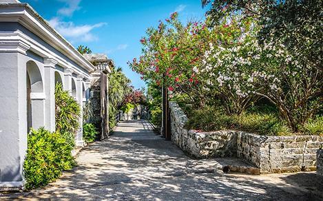 Bermuda Historical Hamilton Street