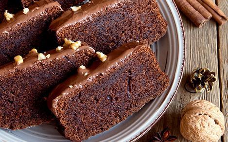 Bermuda Hortons Black Rum Cake