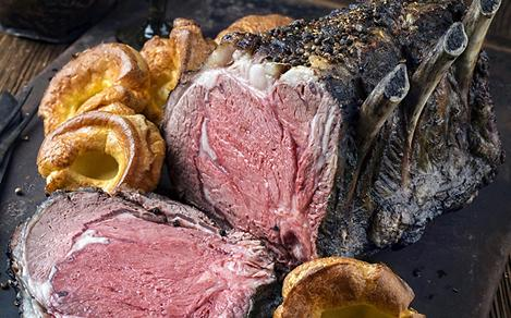 Cote de Boeuf with Yorkshire Pudding