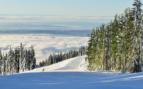 Grouse Mountain in Vancouver, British Columbia