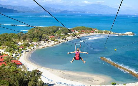Labadee?, Haiti, Caribbean, shoreside activities, couples fun, destination Haiti, shore excursions, zip line, zipline, only on royal,