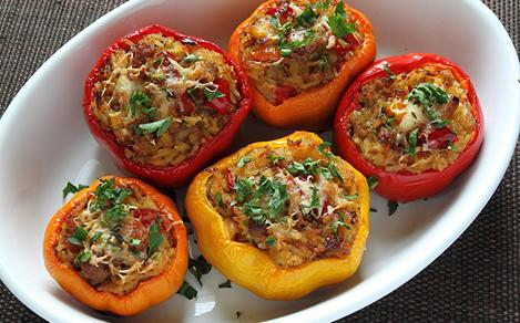 Croatian Stuffed Paprika with Meat