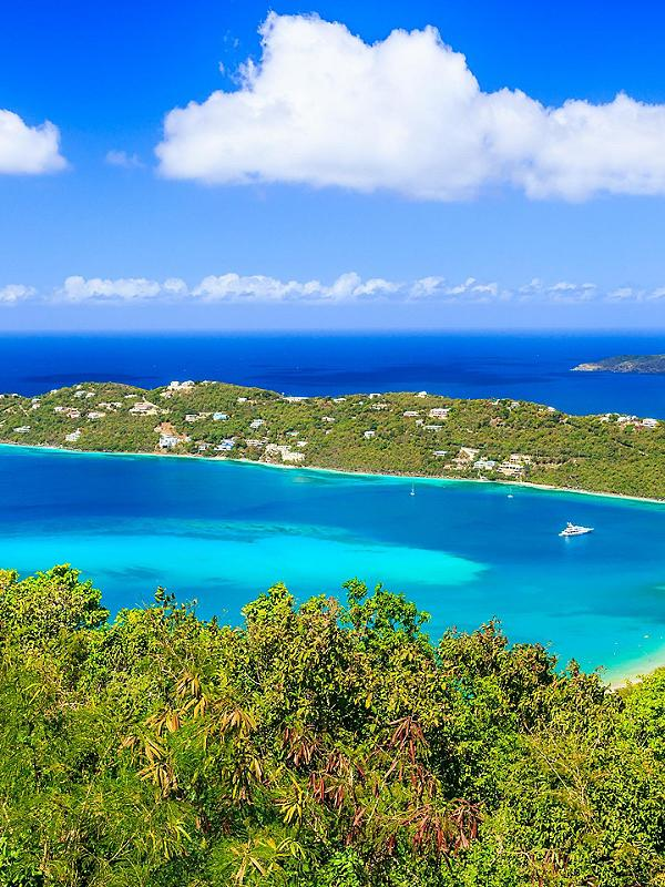 Caribbean Island Turquoise Waters
