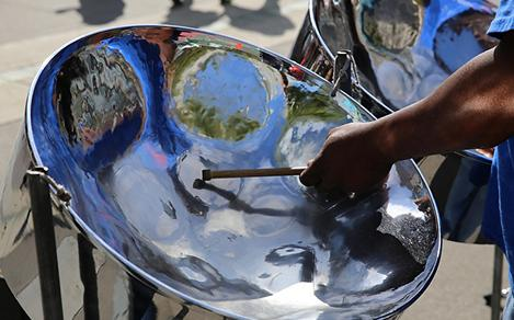 Traditional Caribbean Steel Drums