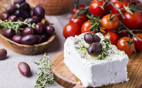 Greek Feta Cheese and Kalamata Olives