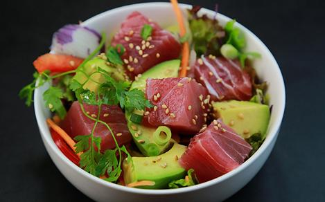 Hawaii Ahi Tuna Poke Bowl