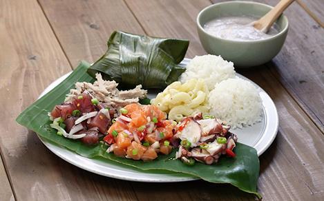 Polynesian Pork Plate