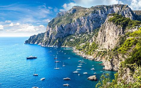 Capri, Italy Crystalline Waters