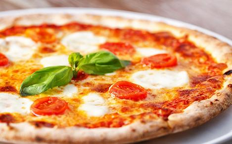 Naples, Italy Margherita Pizza