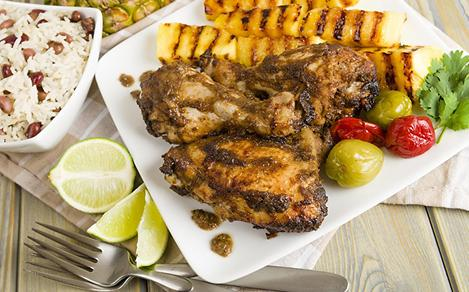 Authentic Jerk Chicken from Jamaica
