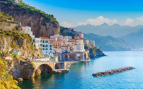 Beautiful, Mediterranean Coastal Town