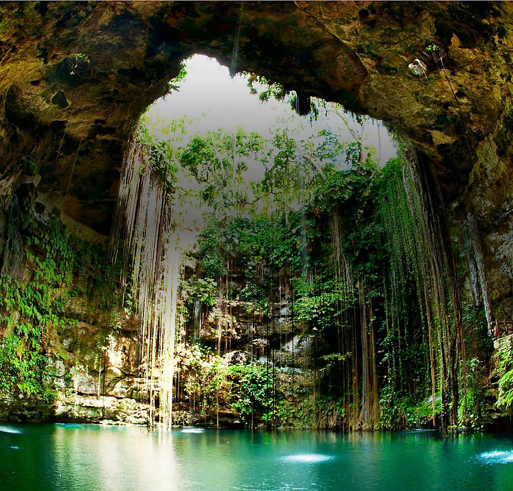 Cenotes in Mexico on Western Caribbean Cruise