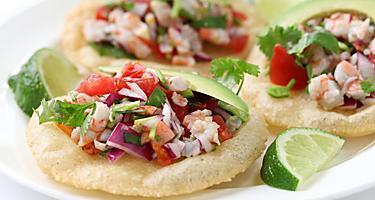 cozumel shrimp tacos