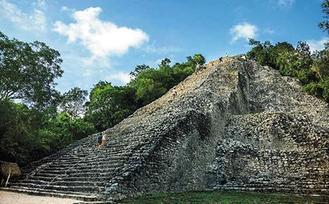 Mexico Attraction: Mayan Pyramids & Ruins