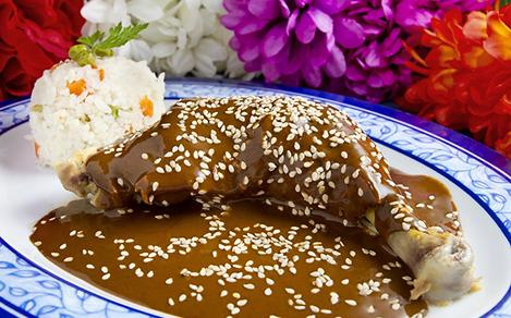 Mexican Authentic Cuisine, Mole Poblano