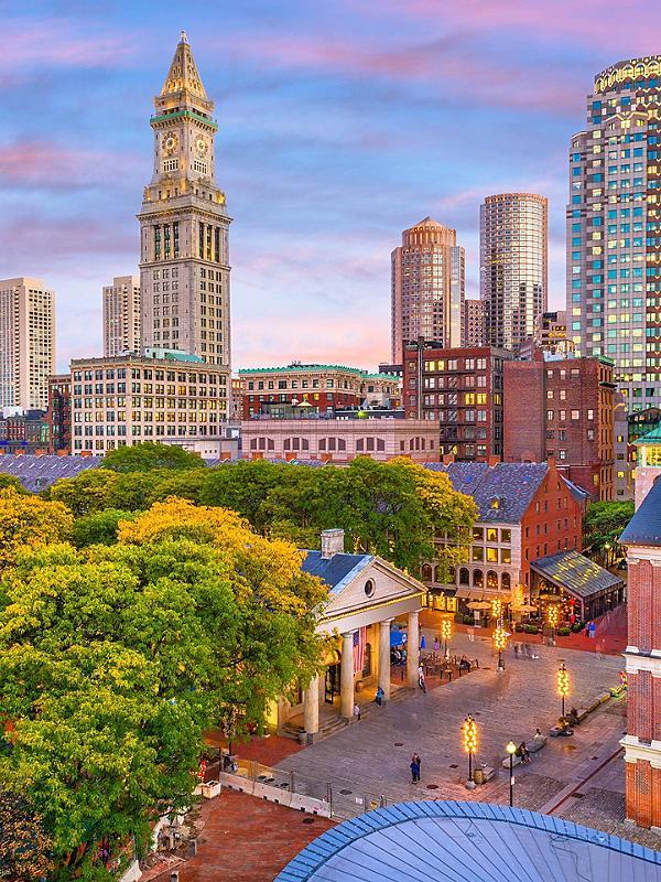 City Buildings in Boston