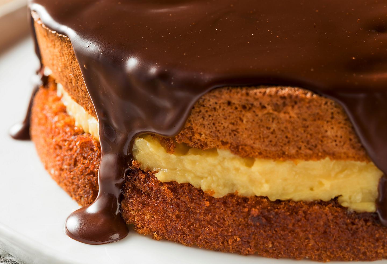 New England Boston Pie Chocolate Fudge