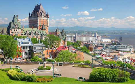 City Landscape from Old Quebec