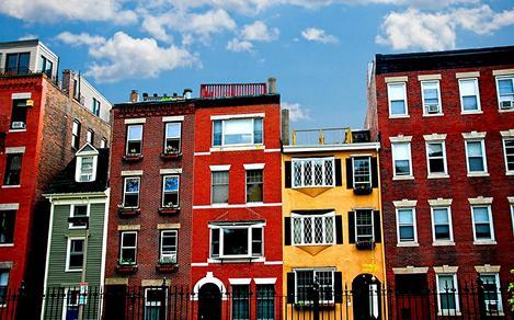City Buildings in Northeast  U.S.