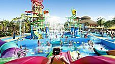 Children enjoying various water activities at Splashaway Bay at Royal Caribbean's Perfect Day at CocoCay