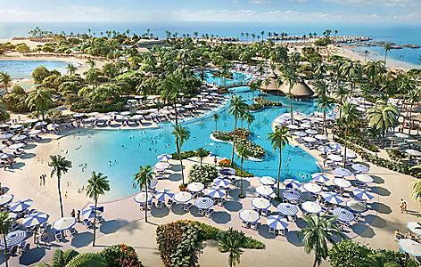 perfect day island cococay bahamas oasis lagoon