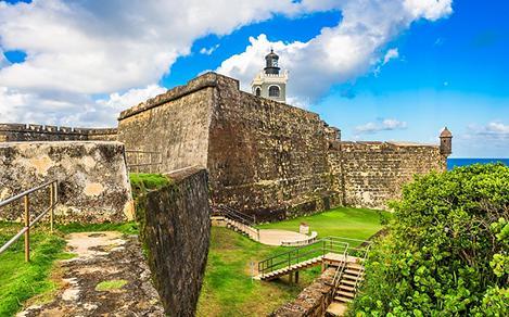 San Felipe del Morro Castle in Old San Juan, Puerto Rico
