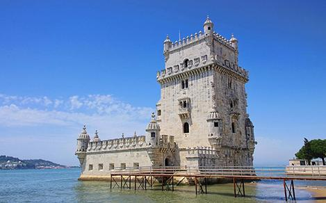 Visit the Belem Tower in Lisbon, Portugal