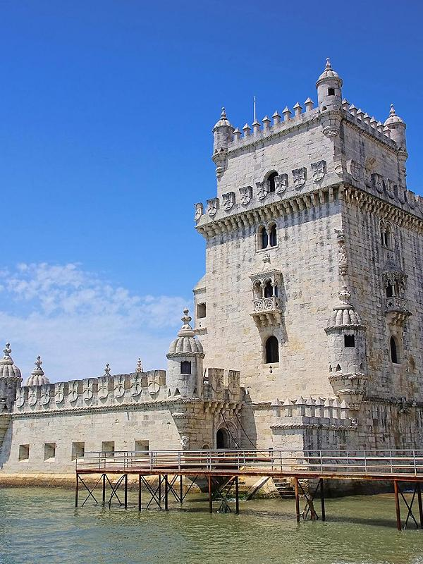 Visit the Belem Tower in Lisbon, Portugal