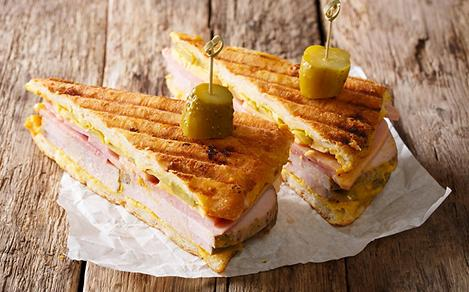 Traditional Cuban Sandwich from Florida