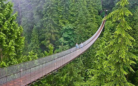Vancouver Skywalk Suspension Bridge