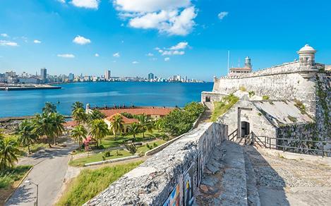 Fortress El Morro in Havana Cuba