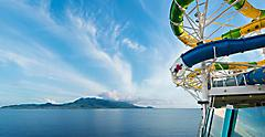 Adventure of the Seas, The Perfect Storm Waterslides