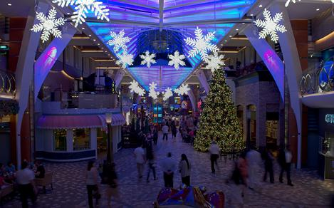 deck the holiday cruises christmas tree lighting