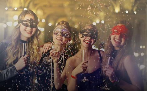 Masquerade party for theme night parties