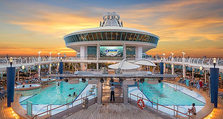 adventure of the seas pool deck hero