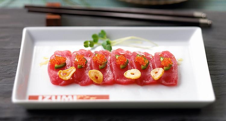 izumi sushi platter food overview tile1