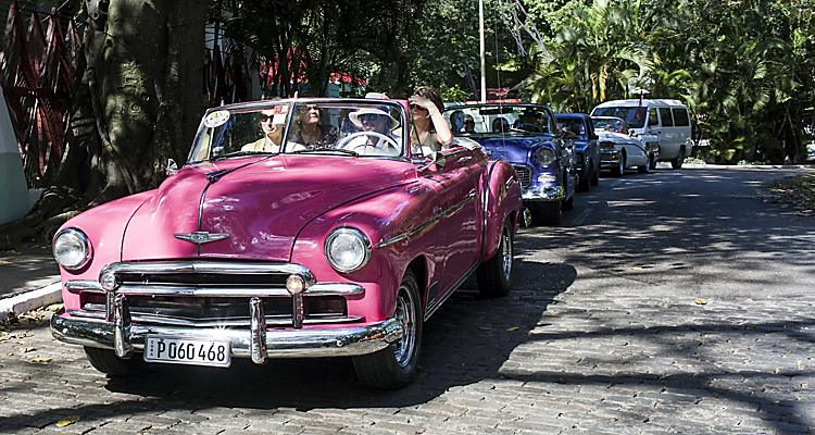 City Tour on Vintage Cars