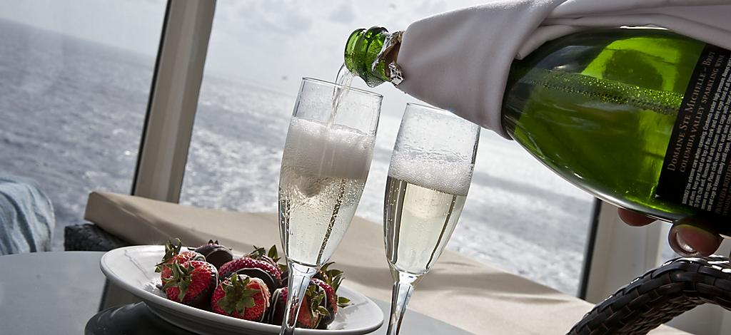 Loft Suite Balcony Stateroom Strawberry And Champagne Room Service 2011 Brand