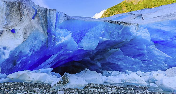 Skagway, Alaska. Davidson Glacier near Haines, Alaska.