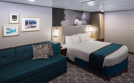 interior stateroom bedding
