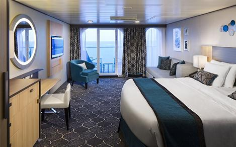 Cruise Junior Suite with Balcony Cat. JS